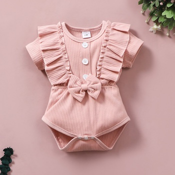 Baby Girl Sweet Rompers & Bodysuits