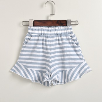 Baby Girl Casual Striped Shorts