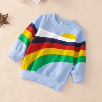 Baby / Toddler Rainbow Pattern Pullover
