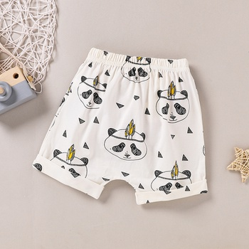 Baby Girl casual Animal Shorts Cute Panda Infant Clothing Outfits