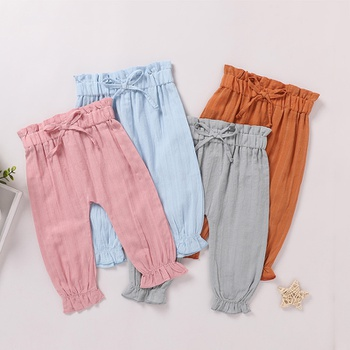 Baby Girl casual straight Casual Pants & Sweatpants & Harem Pants