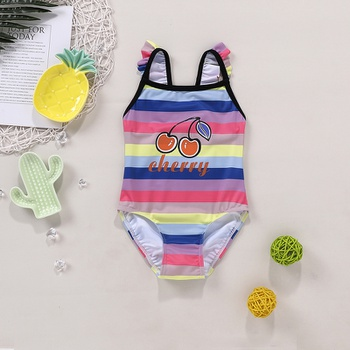 1pc Baby Girl Swimsuit