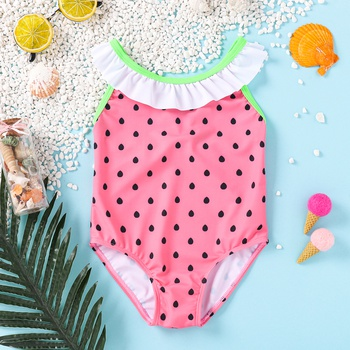 Baby Girl Swimsuit Watermelon Cute Baby Clothes