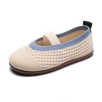 Toddler / Kid Fly-knitted Flat Shoes
