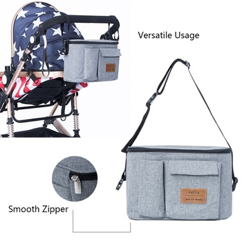 Multicolorful Diaper Bag Stylish Large Capacity Waterproof Maternity Travel Bag for Baby Care