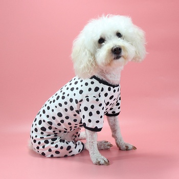 Polka Dot Jumpsuit for Your Dog
