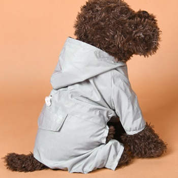 Fluorescent Raincoat for Your Dog