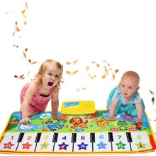 Music Piano Keyboard Dance Mat Playmat Large Size Multi-function Baby Dance Blanket Educational Toy Gift