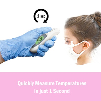 Forehead Thermometer High-precision Non-contact Clinical Thermometer Household Baby Temperature Bandage Digital Measurement Tool