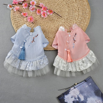 Chinese Style Spring and Summer Pettiskirt