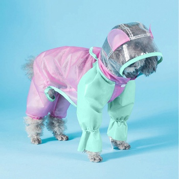 Cute Pet Waterproof Raincoat