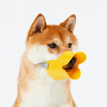 Anti Bite Duck Mouth Shape Dog Mouth Covers Anti-Called Muzzle Masks Pet Mouth Set Bite-Proof Silicone Material