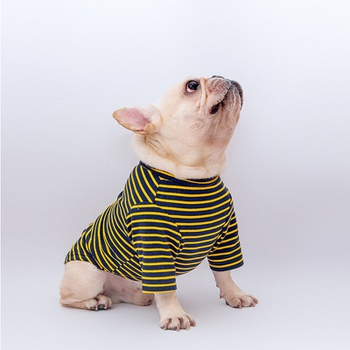 Pet Stripe Cotton Shirt