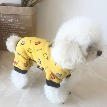 Pet Teddy autumn and winter wool clothes
