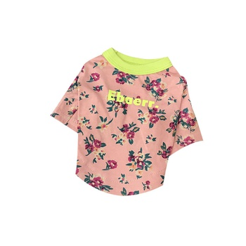 Pet Floral Cotton Clothes