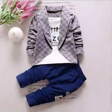 Letter Print Faux-two Top and Pants Set