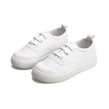 Toddler / Kids Casual Solid Lace-up Canvas Shoes