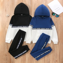 Kid Boy Hoodie and Pants Set