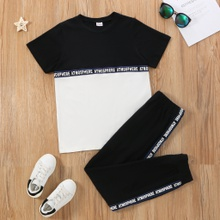 Kid Boy Top & Pants Set