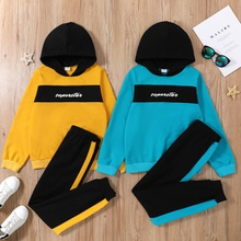 Kid Boy Hoodie & Pants Set