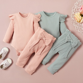 2pcs Baby Girl Casual Sets