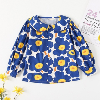 Baby / Toddler Floral Long-sleeve Shirt