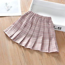 Baby / Toddler Girl Classic Plaid Pleated Skirt