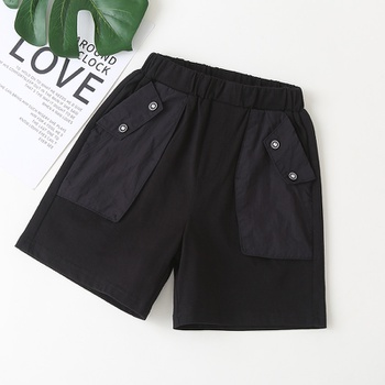 Baby / Toddler Casual Solid Black Shorts