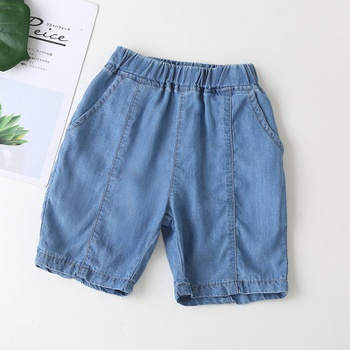 Toddler Boy Casual Solid Denim Shorts