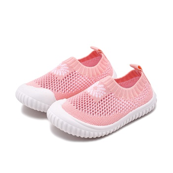 Toddler / Kids Floral Breathable Net Surface Casual Shoes