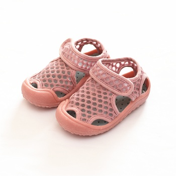 Toddler / Kid Breathable Knitted Solid Beach Sandals