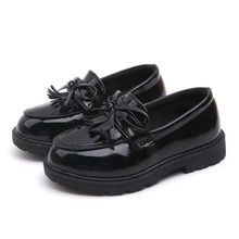 Toddler / Kid Girl Solid Bowknot School Chic Shoes