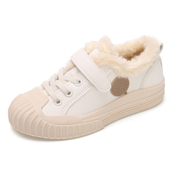 Toddler / Kid Adorable Trendy Fleece-lining Biscuit Sporty Shoes