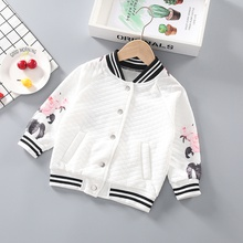 Baby / Toddler Striped Floral Jacket