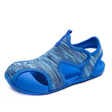 Toddler / Kids Breathable Colorful Striped Sandals