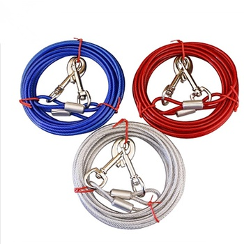 Wire Rope Pet Supplies Dog Leash Dog Chain Traction Rope