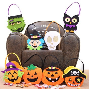 Stylish Halloween Candy Bag for Children