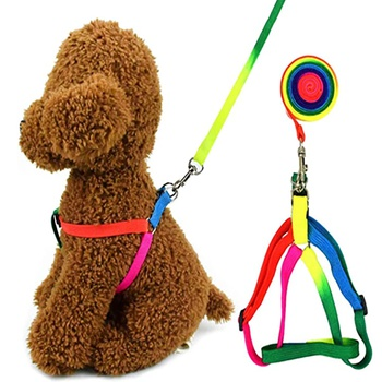 Pet Colorful Chest Strap Leash