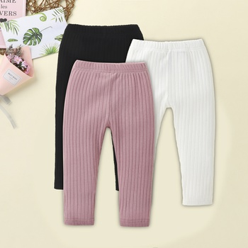 1pc Baby Girl straight Leggings & Pants & Boot Pants