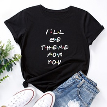 Casual Letter Printed Short-sleeve Tee