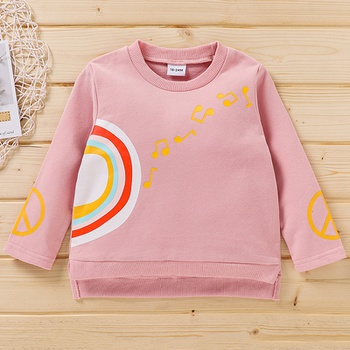 Baby / Toddler Rainbow Long-sleeve Pullover