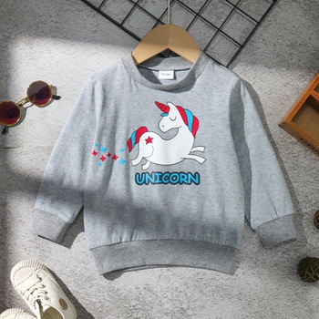 Baby / Toddler Unicorn Solid Pullover