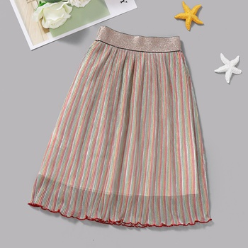 Baby / Toddler Colorful Striped Skirt