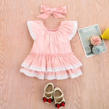 Baby Girl casual Lace Bodysuits