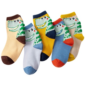 Baby / Toddler / Kid Cute Cartoon Dinosaur Middle Socks