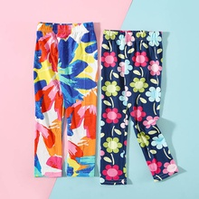 Toddler Girl Floral tights Cotton Leggings & Pants & Boot Pants