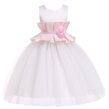 1pc Cotton Toddler Girl Party Costumes & Formal Dresses & Tuxedos