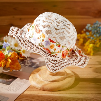 Baby / Toddler Flower Flounced Hat