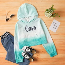 Kid Girl Hooded Sweatshirt