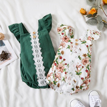 1pc Baby Girl casual Rompers & Bodysuits